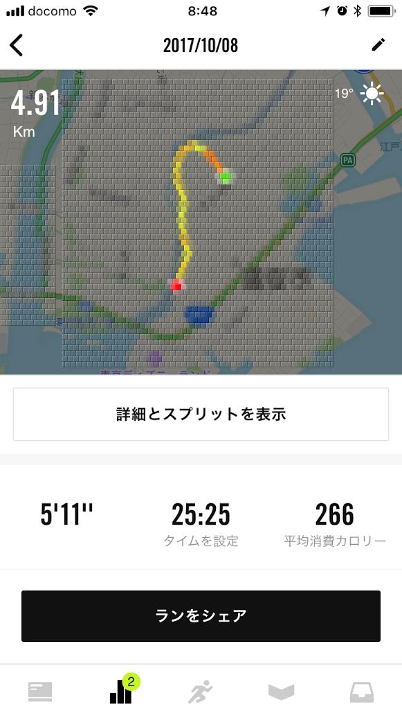 初の都会走行